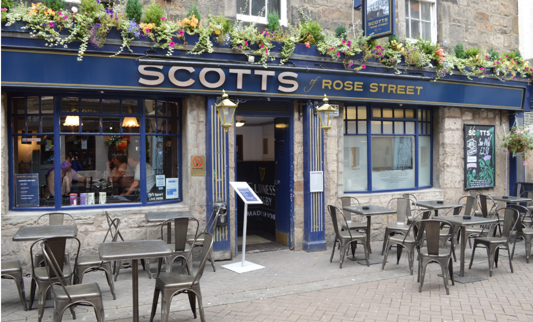Spotlight: Scotts of Rose Street